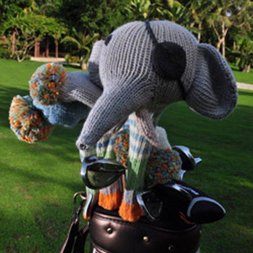 Elephant Pirate Golf Cover Set