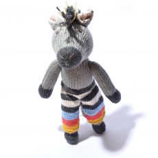 Horse in Stripy Shorts