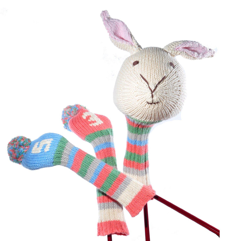 White Rabbit Golf Club Cover Set