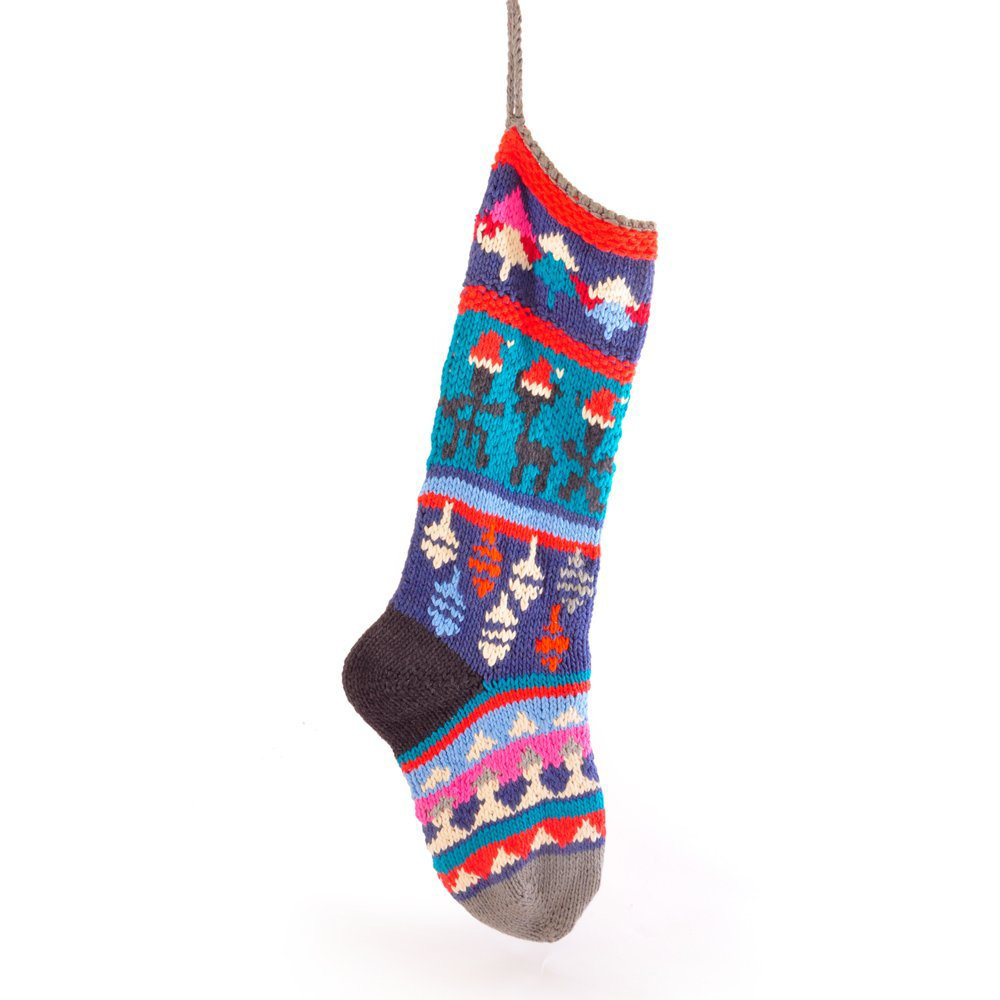 Baubles Christmas Stocking