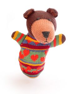 Brown Bear Hand Puppet
