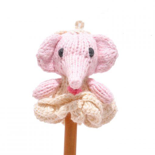 Elephant Bride Finger Puppet