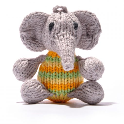 Elephant Baby Green Stripe