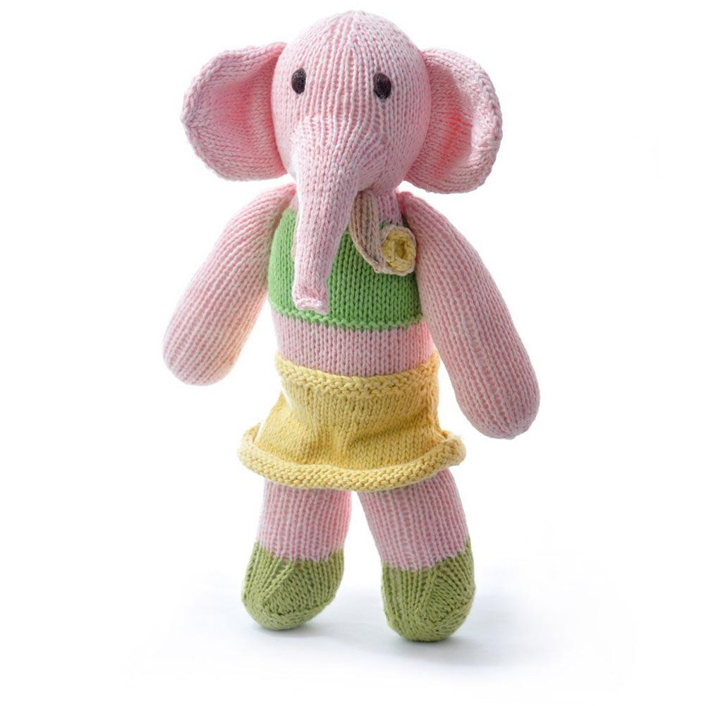 Elephant in Yellow Skirt