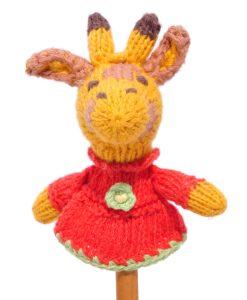 Giraffe Finger Puppet