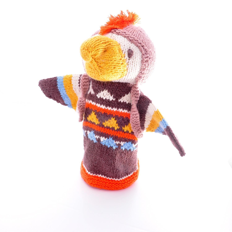 Organic cotton hand puppet