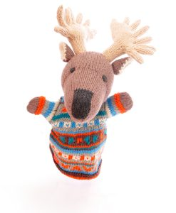 Moose Hand Puppet