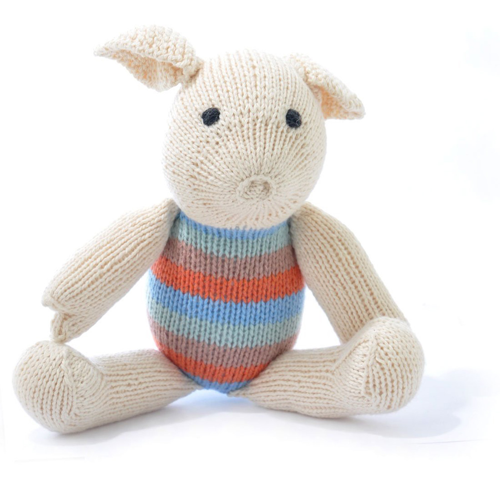 White Pig Soft Toy