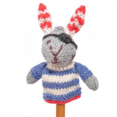 Pirate Rabbit Finger Puppet