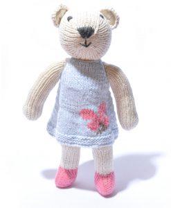 Polar Bear Soft Toy in Organic Cotton