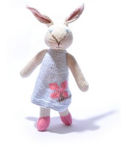 Organic Cotton Rabbit Soft Toy