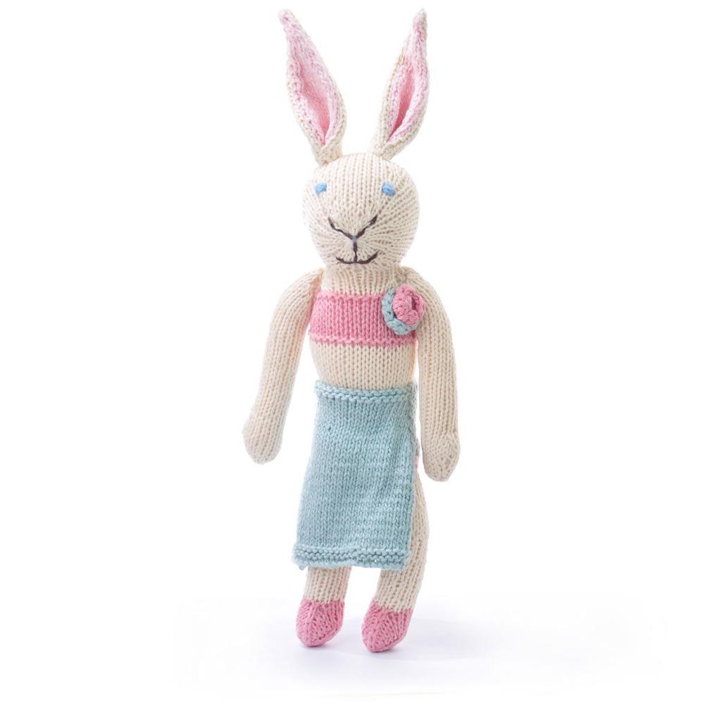 Rabbit in Blue Skirt