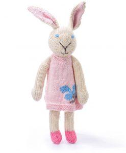 Rabbit in Pink Dress