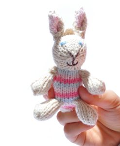 Rabbit Baby in Pink Stripe