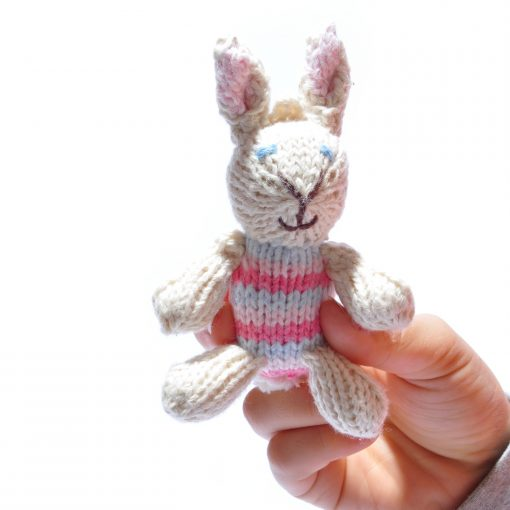 Rabbit Baby in Pink Stripe