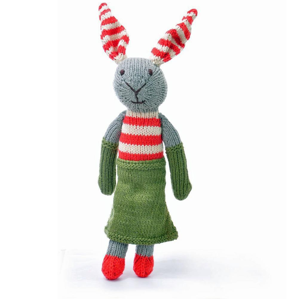 Rabbit in Green Dress