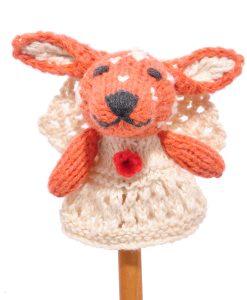 Reindeer Bride Finger Puppet