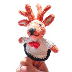 Reindeer Baby Toy by ChunkiChilli