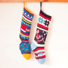 ChunkiChilli Santa Christmas Stocking