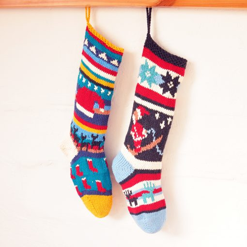 ChunkiChilli Santa Christmas Stocking