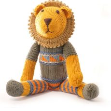 Organic Cotton Lion Soft Toy