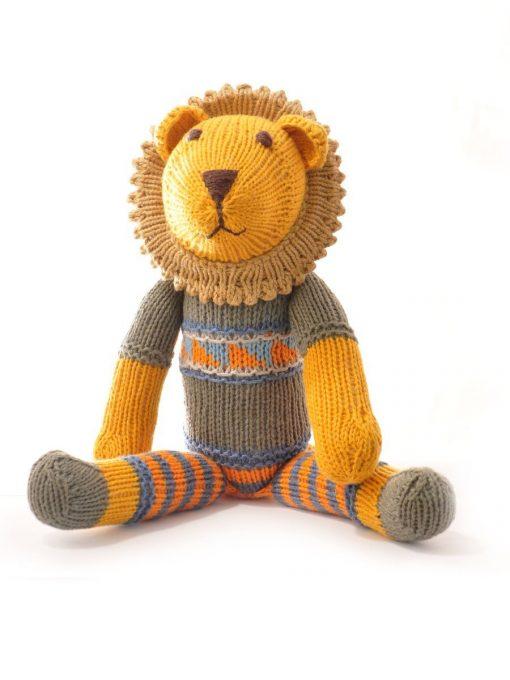Organic Cotton Lion Soft Toy