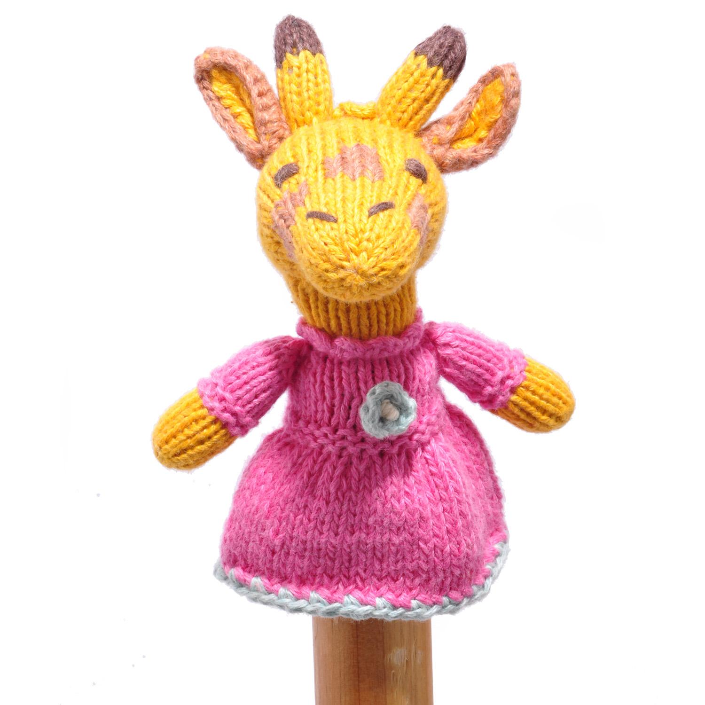 Giraffe Toddler Finger Puppet