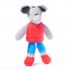 Toddler Mouse in Red Top