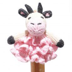 Cow Finger Puppet