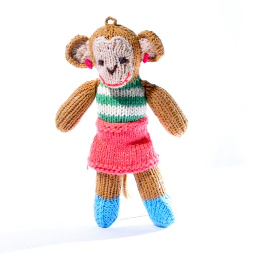 Toddler Monkey in Stripy Top