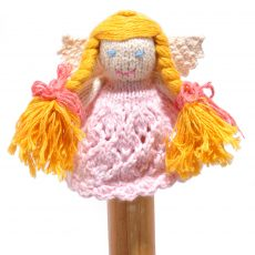 Angel Finger Puppet in Organic Cotton