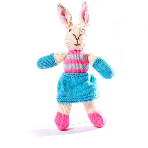 Organic Cotton Rabbit Toddler Soft Toy