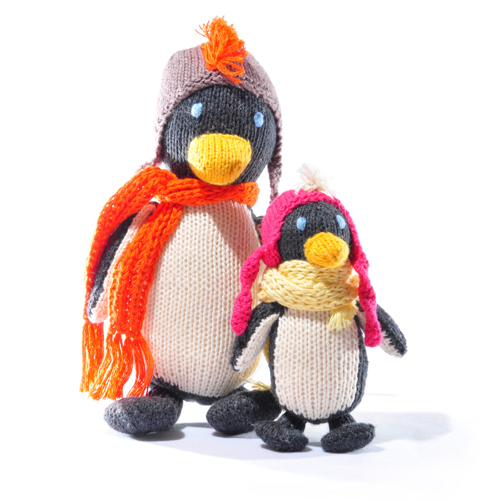 Penguin Soft Toy Set