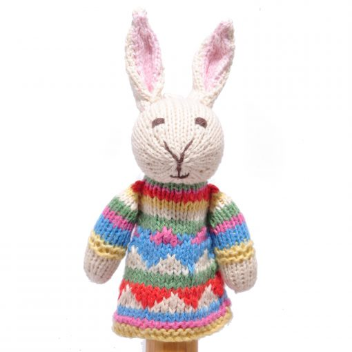 Rabbit Toddler Finger Puppet