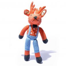 Organic Cotton Reindeer Soft Toy