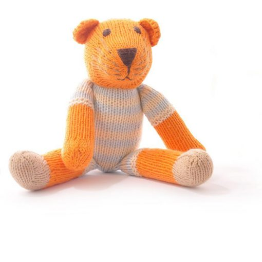 Tiger Soft Toy in Stripe Suit
