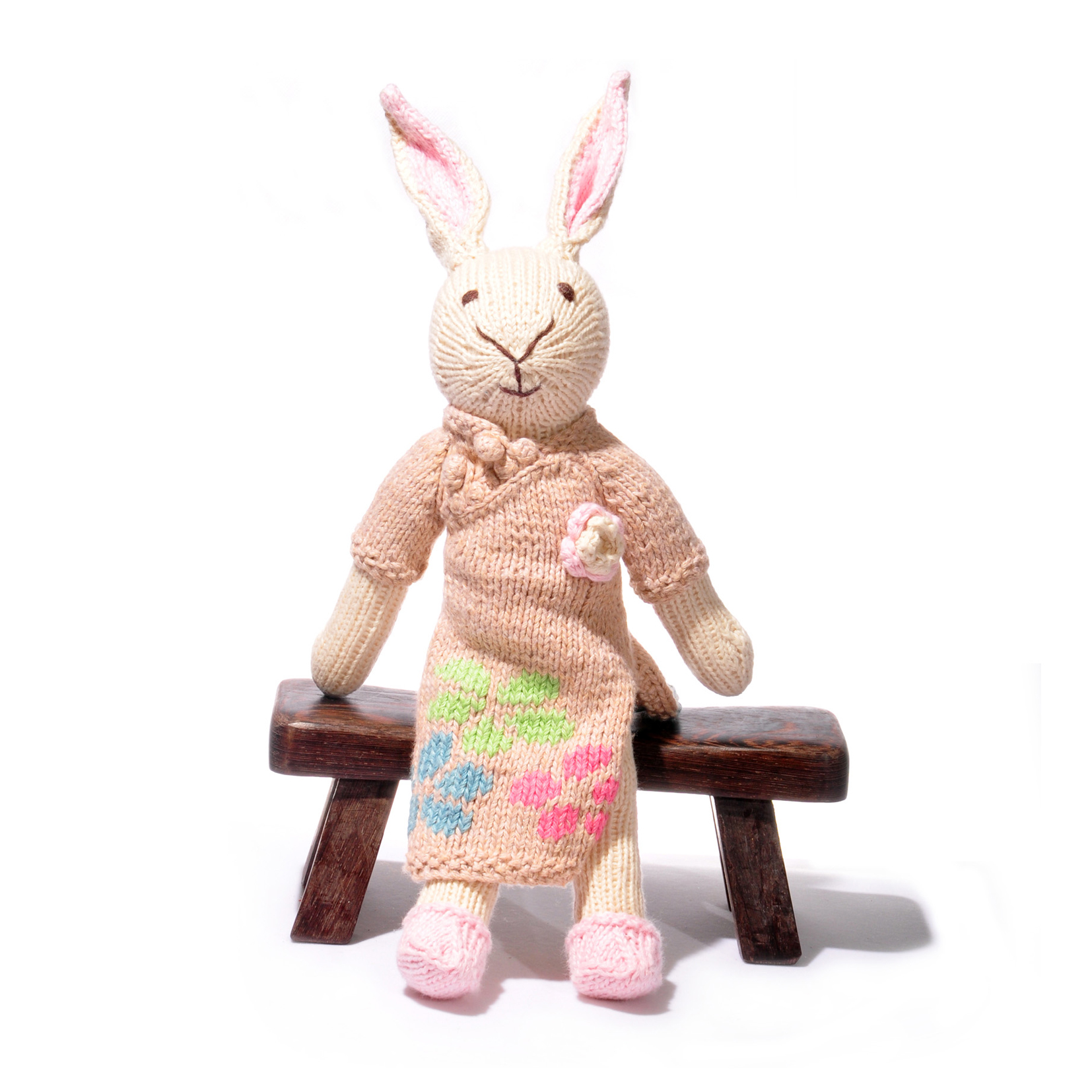 Rabbit Toy in Chinese Dress