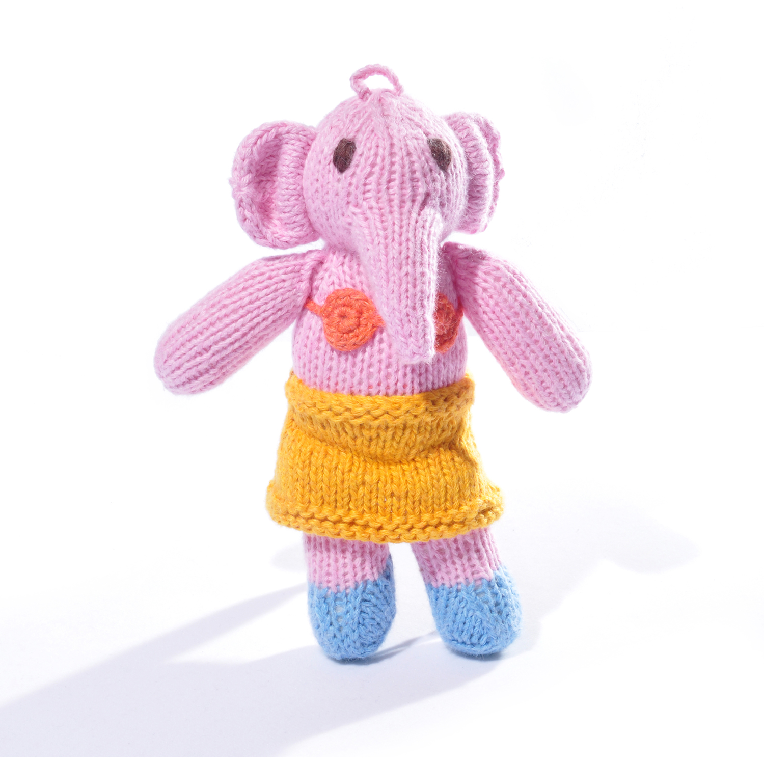 Organic Cotton Elephant Toddler Toy