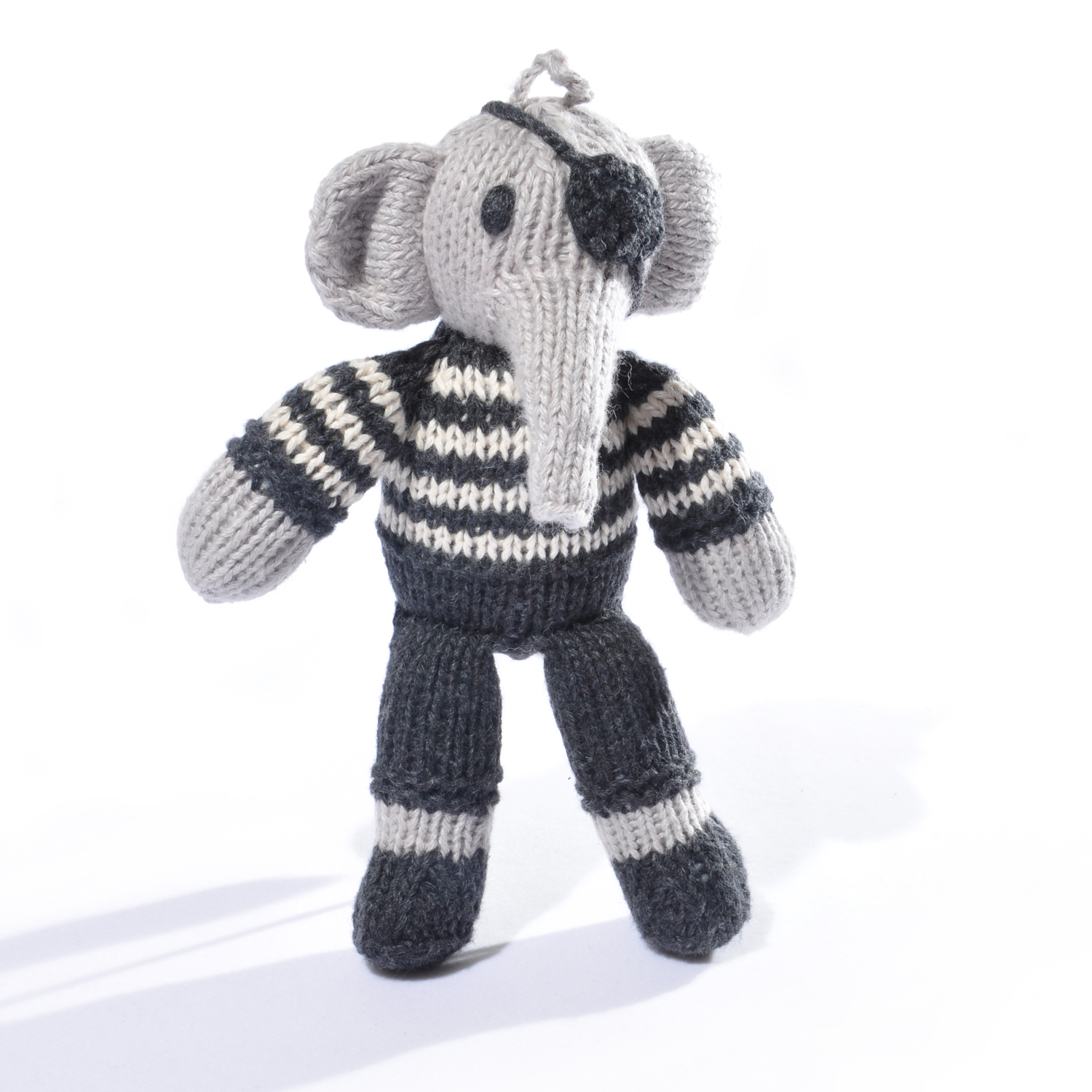 Pirate Elephant Toddler Soft Toy