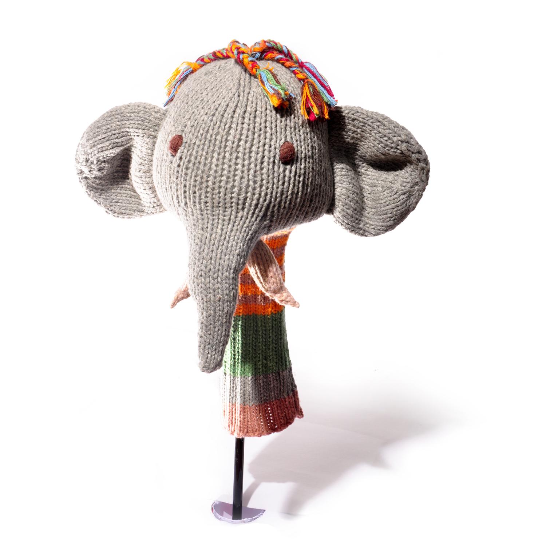 ChunkiChilli Tusky Elephant Golf Club Cover