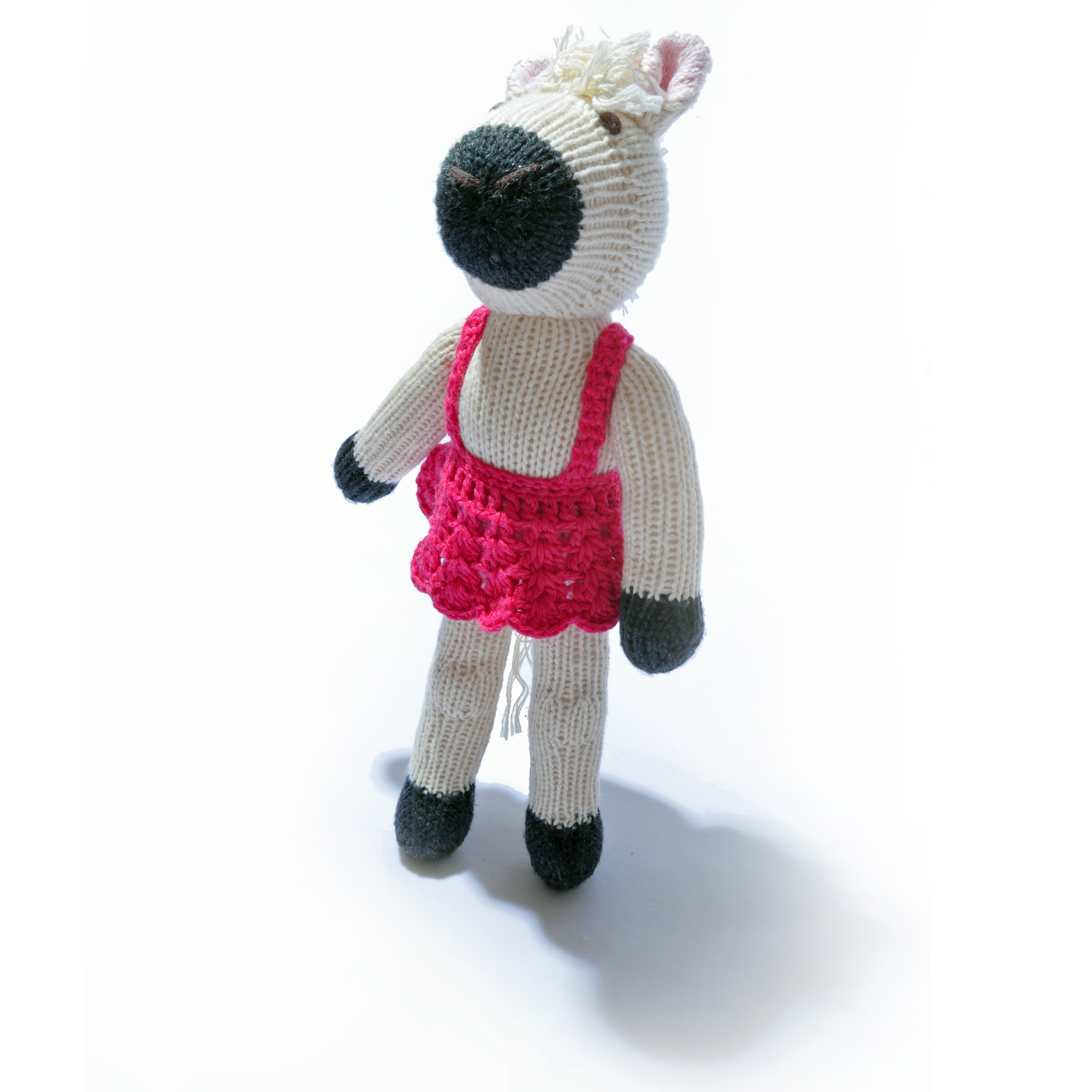 Horse Soft Toy in Ballet Dress