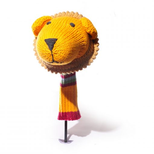 ChunkiChilli Lion Big Head Golf Club Cover
