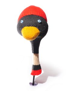 ChunkiChilli Penguin Head Golf Club Cover