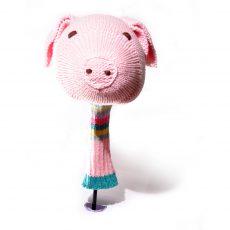 ChunkiChilli Pig Head Golf Club Cover