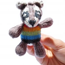 Raccoon Baby Soft Toy