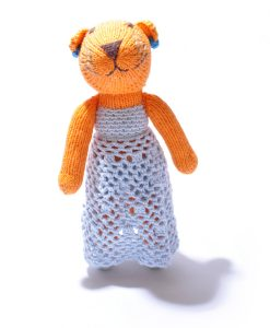 Tiger Soft Toy in Crochet Dress