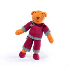 Tiger Soft Toy in Burgundy Suit