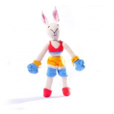 Organic Cotton Boxer Rabbit Toy