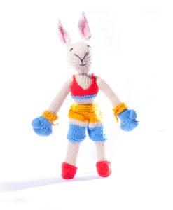 Organic Cotton Boxer Rabbit Toy