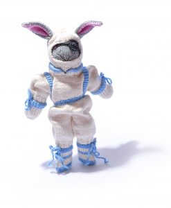 Astronaut Bunny Soft Toy by ChunkiChilli